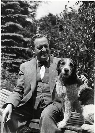 Moser mit Hund100 KB